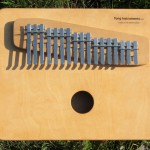 17-tone Linear Kalimba